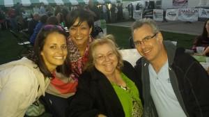 Lindsey Sisson, January Serda, Donna Henry, & Dick Trowbridge